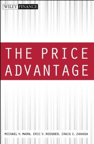 9780471466697: The Price Advantage (Wiley Finance)