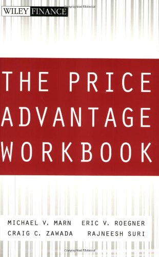 9780471466703: The Price Advantage Workbook: Step-by-Step Questions and Exercises to Help You Master The Price Advantage