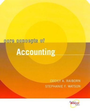 9780471467113: Core Concepts Version of Survey of Accounting