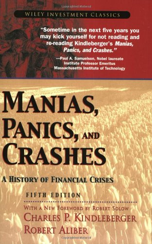 Manias, Panics, and Crashes: A History of: Charles P. Kindleberger,