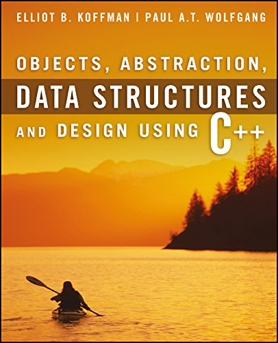 9780471467557: Objects, Abstraction, Data Structures and Design: Using C++