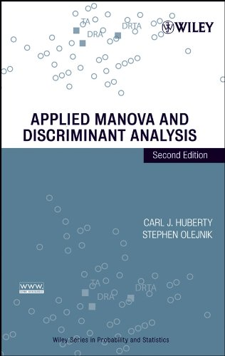 9780471468158: Applied Manova And Discriminant Analysis