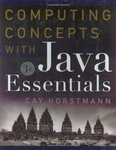 9780471469001: Computing Concepts with Java Essentials