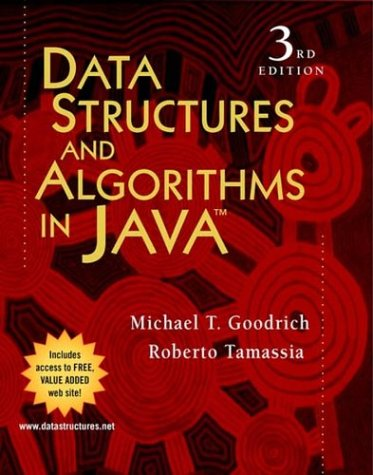 Data Structures and Algorithms in Java: Michael T. Goodrich,
