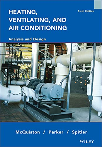Heating Ventilating and Air Conditioning Analysis and Design 6E