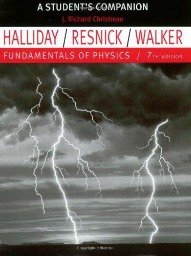 9780471470625: Fundamentals of Physics student's companion, 7th Edition