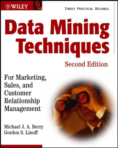 9780471470649: Data Mining Techniques: For Marketing, Sales, and Customer Relationship Management