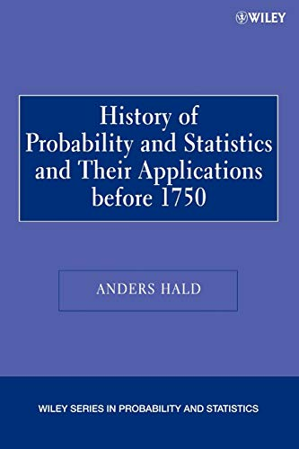 9780471471295: A History of Probability and Statistics and Their Applications before 1750