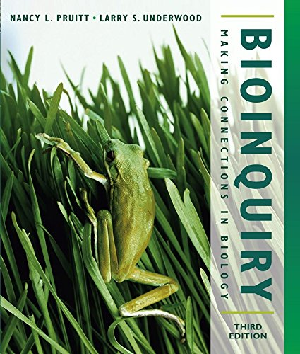 9780471473213: Bioinquiry: Making Connections in Biology, 3rd Edition