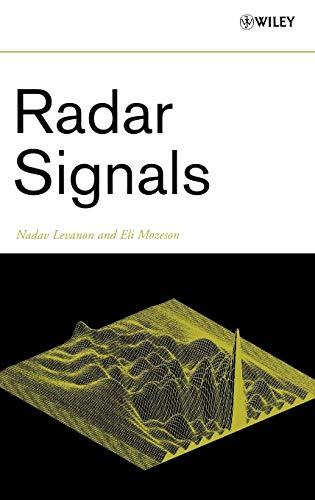 Radar Signals: Nadav Levanon; Eli