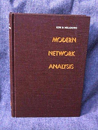 9780471475507: Modern Network Analysis
