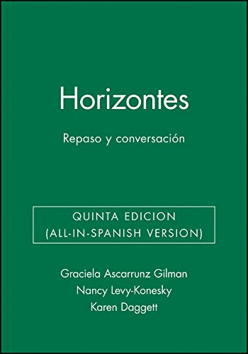 9780471475996: Horizontes: Repaso y conversaci?n, Activities Manual (Spanish Edition)
