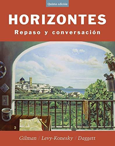 9780471476009: Horizontes: Repaso y Conversacion, 5th Edition