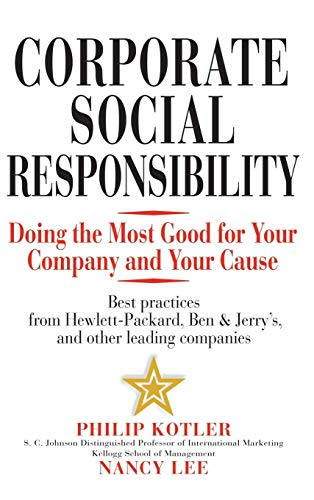 9780471476115: Corporate Social Responsibility: Doing the Most Good for Your Company and Your Cause