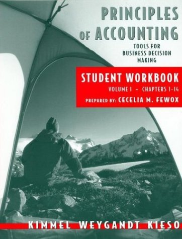 9780471476207: Principles of Accounting, with Annual Report, Student Workbook, Vol. I