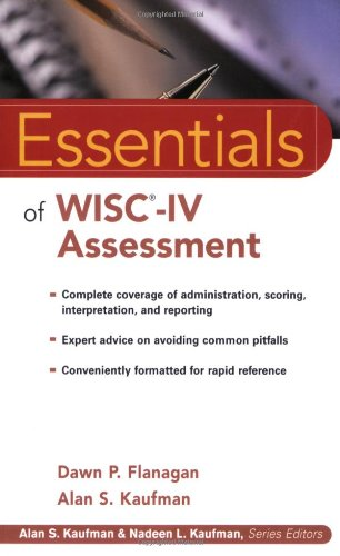 9780471476917: Essentials of WISC-IV Assessment (Essentials of Psychological Assessment)