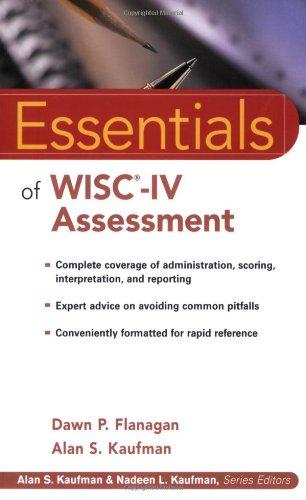 9780471476917: Essentials Of WISC-IV Assessment