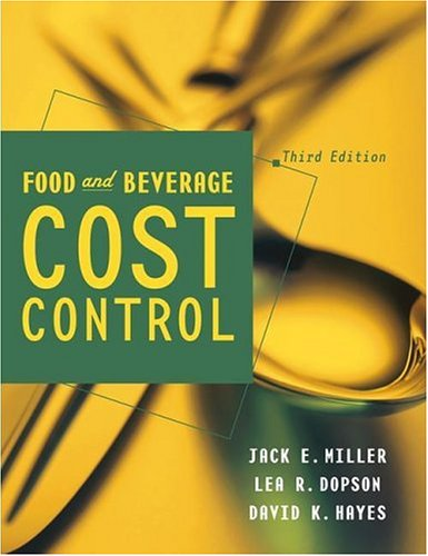 9780471477860: Food and Beverage Cost Control