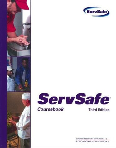 9780471478027: ServSafe: Coursebook with the Scantron Certification Exam Form