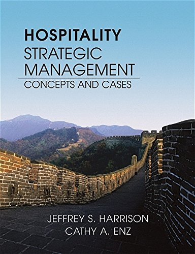9780471478539: Hospitality Strategic Management: Concepts and Cases