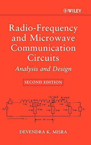 9780471478737: Radio-Frequency and Microwave Communication Circuits: Analysis and Design