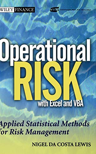 9780471478874: Operational Risk with Excel and VBA: Applied Statistical Methods for Risk Management, + Website (Wiley Finance Series)