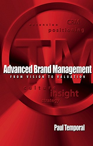 Advanced Brand Management: From Vision to Valuation