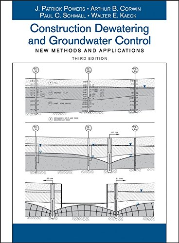 9780471479437: Construction Dewatering and Groundwater Control: New Methods and Applications