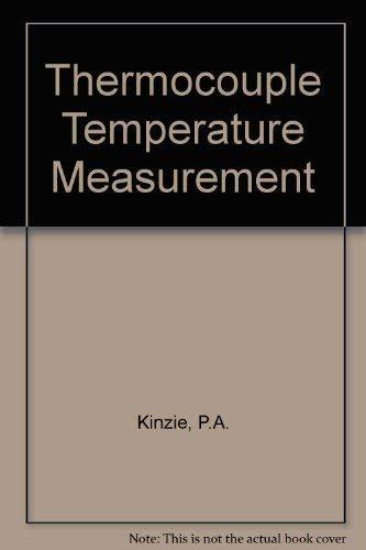9780471480808: Thermocouple Temperature Measurement
