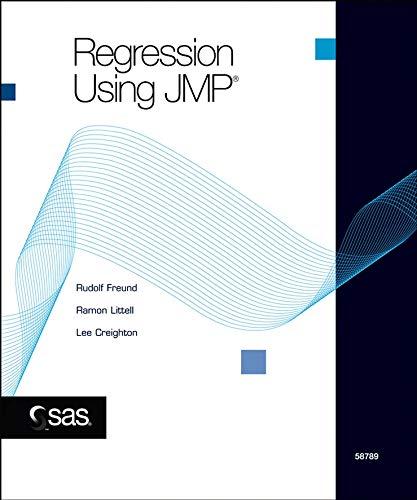 9780471483076: Regression Using JMP