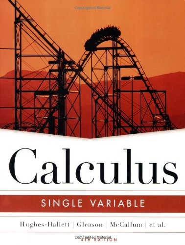 9780471484820: Calculus: Single Variable