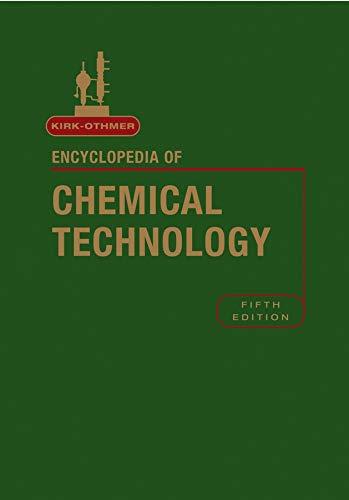 9780471484943: Kirk-Othmer Encyclopedia of Chemical Technology (Chemistry)