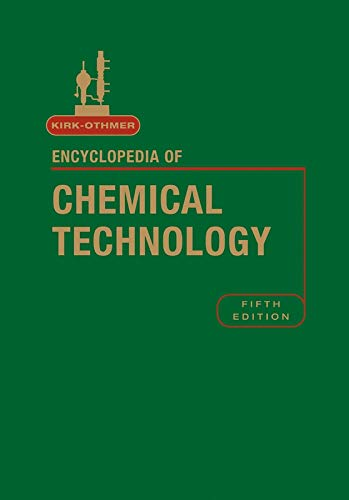 Kirk-Othmer Encyclopedia of Chemical Technology, Volume 14 (Kirk 5e Print Continuation Series): ...