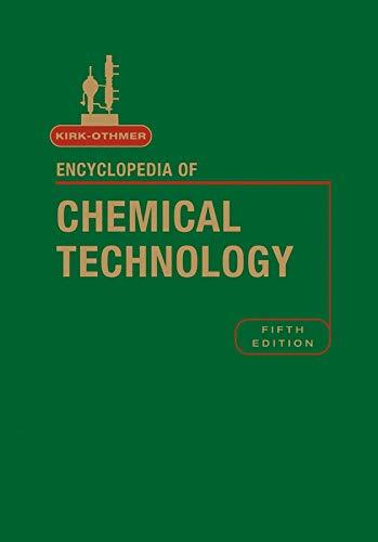 Encyclopedia of Chemical Technology: v. 8 (Hardback): R. E. Kirk-Othmer
