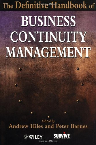 9780471485599: Definitive Hdbk of Business Continuity