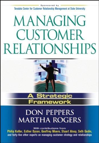 9780471485902: Managing Customer Relationships: A Strategic Framework