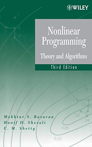 9780471486008: Nonlinear Programming: Theory and Algorithms