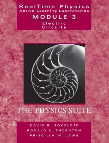 9780471487722: RealTime Physics, Active Learning Laboratories Module 3: Electric Circuits