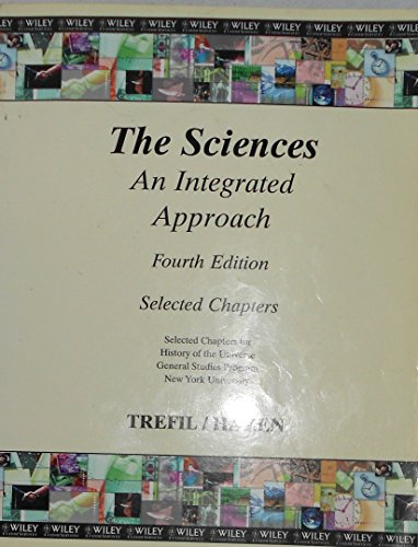 The Sciences An Integrated Approach Selected Chapters
