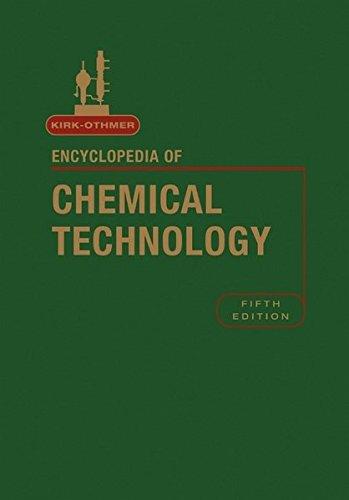 9780471488101: Kirk-Othmer Encyclopedia of Chemical Technology 5e, 27 Volume Set, Standing Order (Kirk 5e Print Continuation Series)