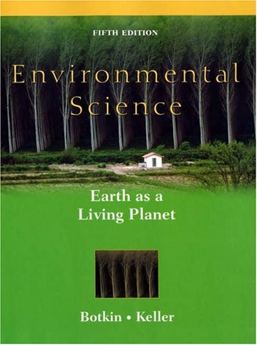 9780471488163: Environmental Science: Earth as a Living Planet