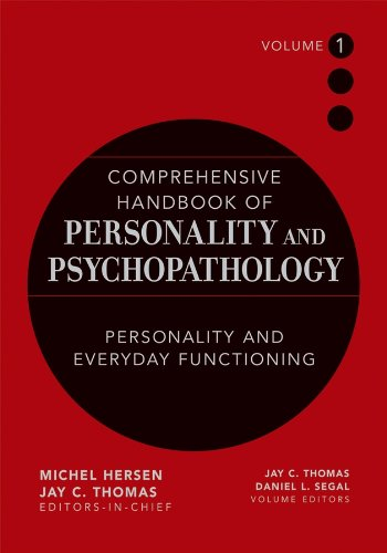 9780471488378: Comprehensive Handbook of Personality and Psychopathology , Personality and Everyday Functioning (Volume 1)