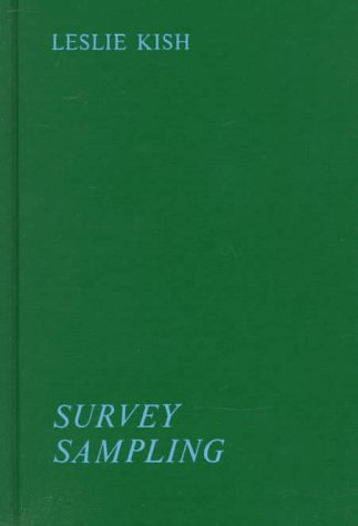 9780471489009: Survey Sampling