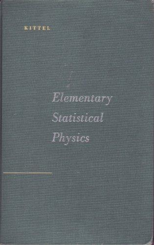 9780471490050: Elementary Statistical Physics