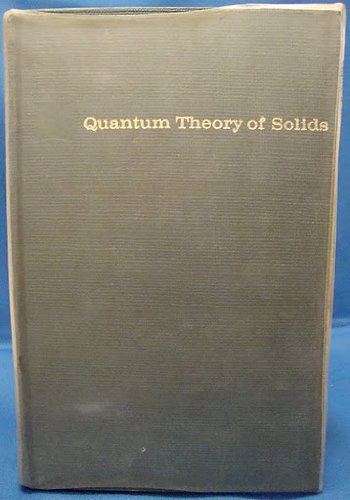 9780471490258: Quantum Theory of Solids
