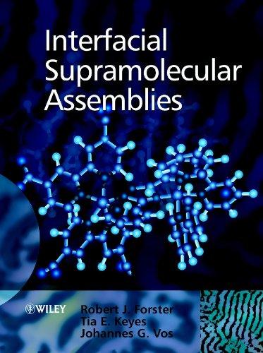 Interfacial Supramolecular Assemblies: Vos, Johannes G.,
