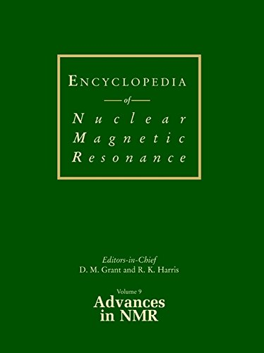 9780471490821: Encyclopedia of Nuclear Magnetic Resonance, Advances in NMR (Advances in Nmr, Volume 9)
