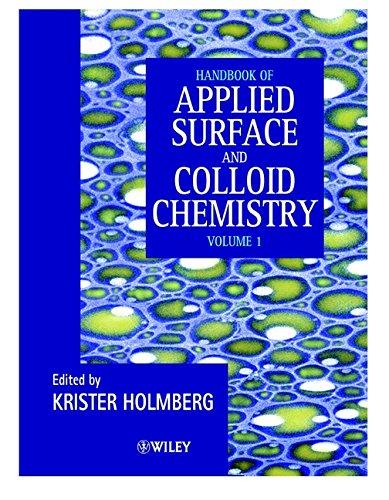 9780471490838: Handbook of Applied Colloid & Surface Chemistry (2 Volume Set)