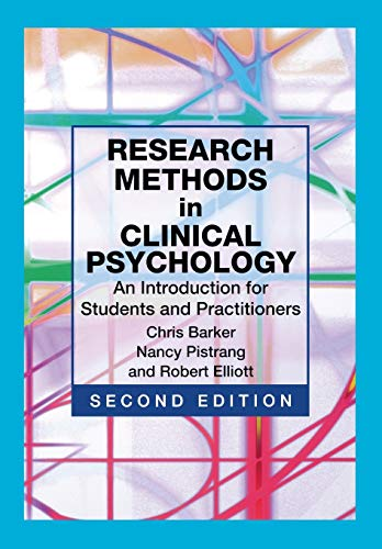 9780471490890: Research Methods in Clinical Psychology: An Introduction for Students and Practitioners