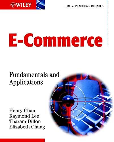 9780471493037: E-Commerce: Fundamentals and Applications